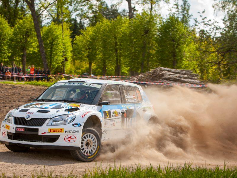 Pēc Rally Talsi pirmās dienas līderus šķir 1,06 sekundes