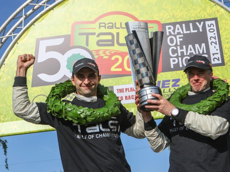 Rally Talsi neticamu uzvaru izcīna lietuvieši Martins Samsons / Mindaugs Varža
